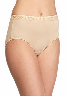 Jockey Super Soft Lace Waist Brief - 2103