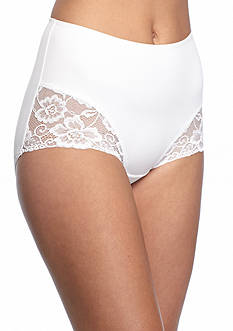 Jockey Slimmers Microfiber Brief with Lace-4154