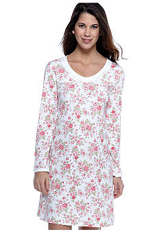 Carole Hochman Rose Cottage Sleep Shirt