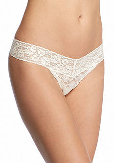 New Directions V-Lace Thong - 16J113