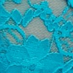 Women: Panties Sale: Turquoise Island New Directions Intimates V-Lace Thong - 16J113