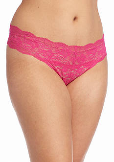 New Directions Intimates Plus Size Lace Thong - 16J33X