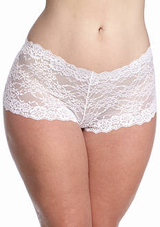 New Directions Intimates Plus Size Lace Hipster - P19J098