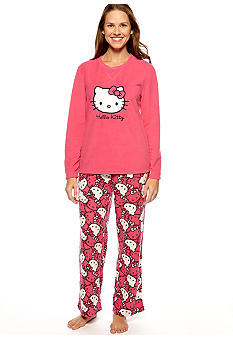 Hello Kitty Microfleece Pajama Set
