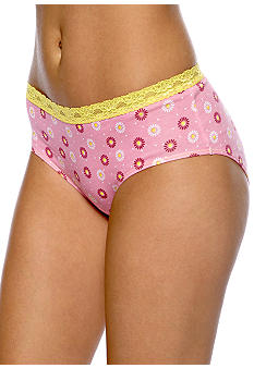 Barely There Lace Trim Hipster - 21B4
