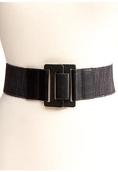 Nine West 2.375-in. Stretch Wood Belt