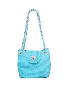 Kim Rogers® Straw Shoulder Minibag