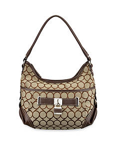 Nine West 9s Jacquard Small Hobo