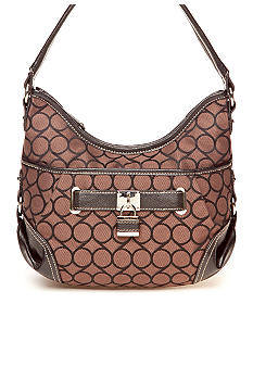 Nine West Jacquard Small Hobo