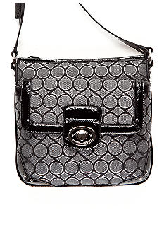 Nine West Lurex 9's Jacquard Medium Crossbody