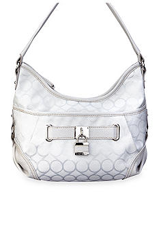 Nine West 9 Jacquard Small Hobo
