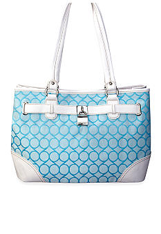 Nine West 9 Jacquard Medium Shopper