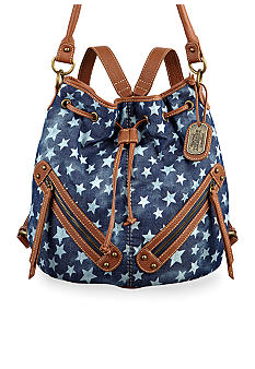 Nine West Vintage America Collection: Braided Convertible Medium Backpack