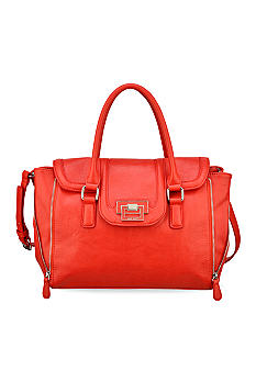 Nine West Jet Set Go Medium Top Zip Satchel