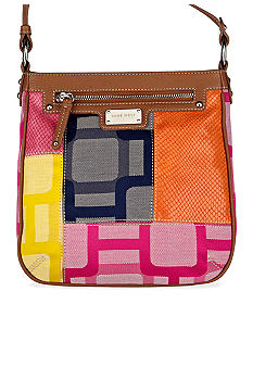 Nine West Vegas Signs Patchwork Medium Crossbody