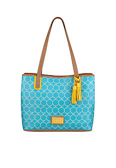 Nine West Printed Nines Medium Shopper