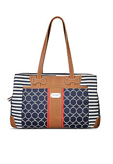 Nine West On Cloud 9 Denim Medium Satchel