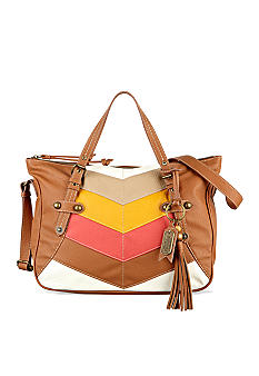 Nine West Vintage America Collection: Sun Block Medium Satchel