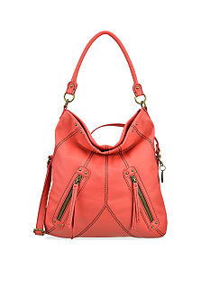 Nine West Vintage America Collection: Zipped Up Medium Foldover Hobo
