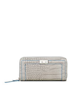 Nine West Internal Affairs Zip Around Wallet