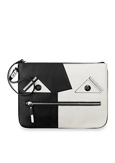 Nine West Faces Zip Wristlet