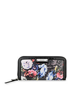 Nine West Glitter Mob Collection Zip Around Wallet