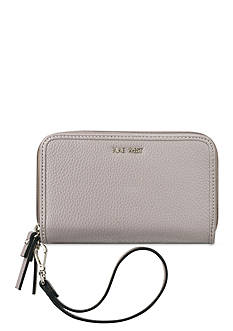 Nine West Table Treasures Double Zip Around Wallet