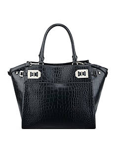 Nine West Gleam Team Large Satchel