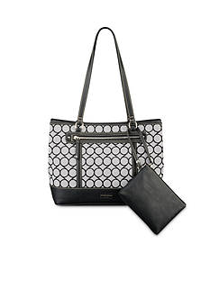 Nine West 9 Jacquard Tote