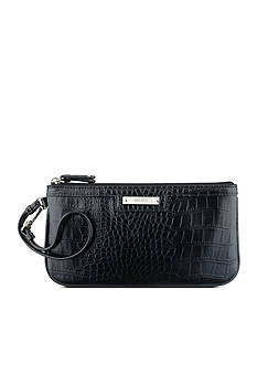 Nine West Table Treasures Croc Wristlet