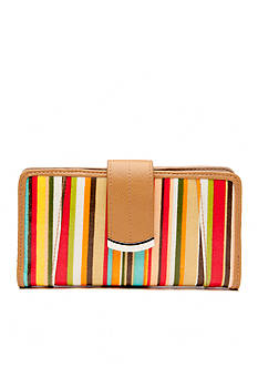 New Directions® Pretty Prints Stripe Suburban Wallet