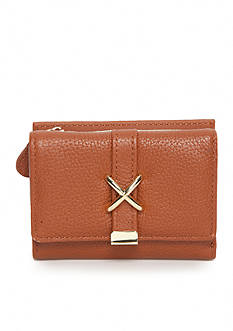 New Directions Rio Leather Trifold Wallet