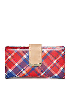 New Directions® Pretty Prints Plaid Filemaster Wallet