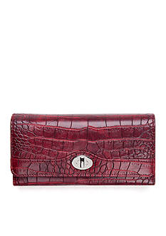 New Directions Croco Filemaster Clutch Wallet