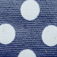 Handbags and Wallets: Navy Blue New Directions Dots Filemaster With Safekeeper