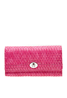 New Directions 3D Weave Filemaster Clutch Wallet