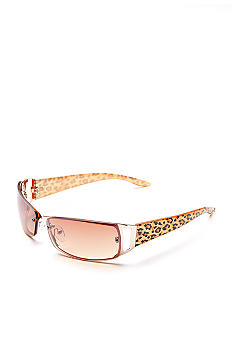 New Directions Small Rimless Sunglasses