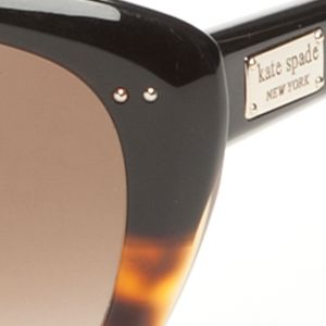 Womens Sunglasses: Tortoise kate spade new york Angelique Sunglasses