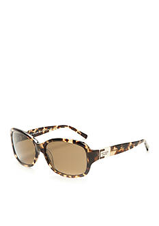 kate spade new york Annika Tortoise Stripe Polarized Sunglasses