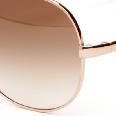 Womens Sunglasses: Rose Gold kate spade new york Avaline Sunglasses