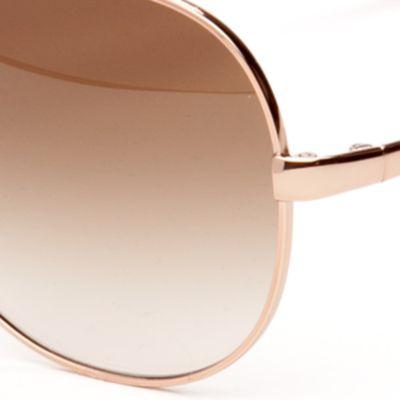 Aviator Sunglasses: Rose Gold kate spade new york Avaline Sunglasses