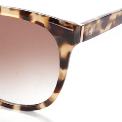 Womens Sunglasses: Brown kate spade new york Bayleigh Sunglasses