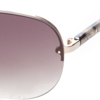 Womens Gloves: Gold/Brown kate spade new york Beryl Sunglasses