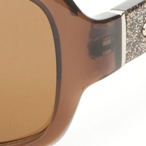 Fashion Sunglasses: Brown kate spade new york Cheyenne Sunglasses