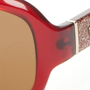 Fashion Sunglasses: Burgundy kate spade new york Cheyenne Sunglasses