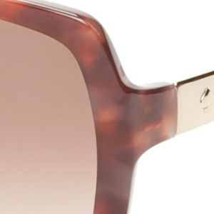 Fashion Sunglasses: Blush Tortoise kate spade new york Darilynn Sunglasses