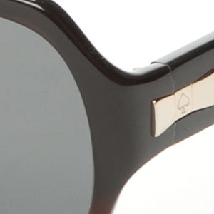 Fashion Sunglasses: Black kate spade new york Laney Sunglasses