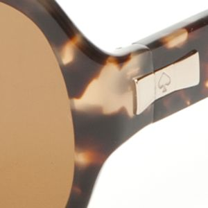 Fashion Sunglasses: Brown kate spade new york Laney Sunglasses