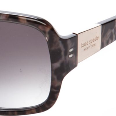 Womens Sunglasses: Black Multi kate spade new york Lulu Sunglasses