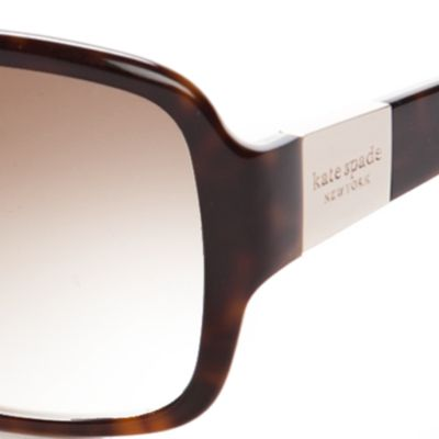 Womens Sunglasses: Brown Multi kate spade new york Lulu Sunglasses